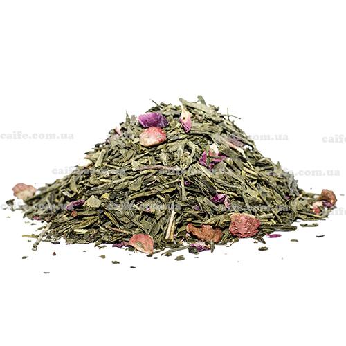 Зеленый чай Клубничный