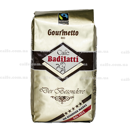 Кофе в зернах Gourmetto BIO Badilatti 250 г