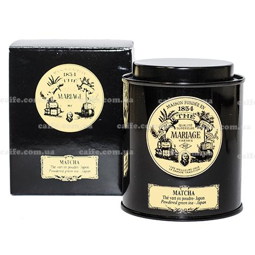 Зеленый чай Матча Mariage Freres металлическая банка 40 гр