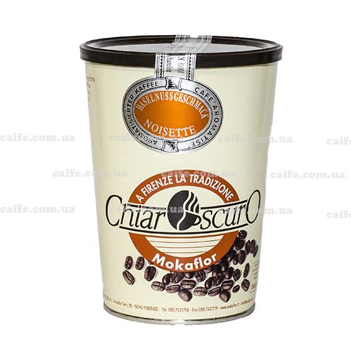 Кофе в зернах ароматизированный Лесной орех Mokaflor 250 гр