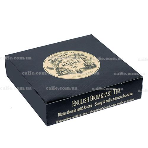 Черный чай Английский завтрак Mariage Freres пакетированный