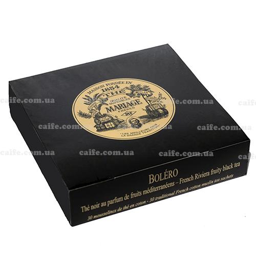 Черный чай Болеро Mariage Freres пакетированный