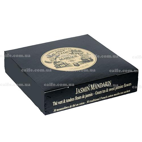 Зеленый чай Жасмин Мандарин Mariage Freres пакетированный