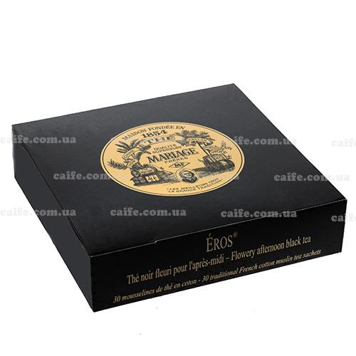 Черный чай Эрос Mariage Freres пакетированный