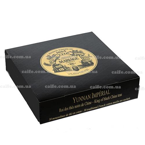 Черный чай Юннань Империал Mariage Freres пакетированный