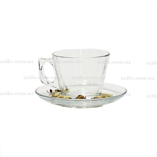 Чашка с блюдцем американо 200 мл «Вела»