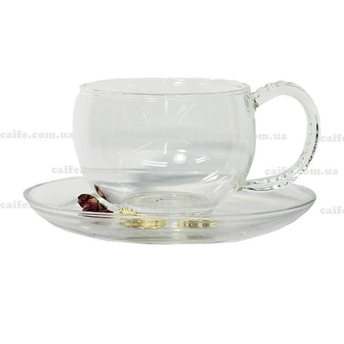 Чашка с блюдцем Водолей 150 мл