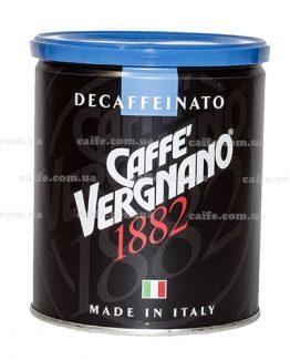 Молотый кофе Arabica Decaffeinato Vergnano 250 гр
