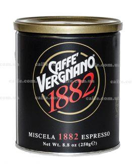 Молотый кофе Arabica Miscela 1882 Vergnano 250 гр