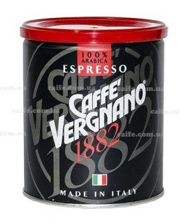 Молотый кофе Arabica Espresso Vergnano 250 гр
