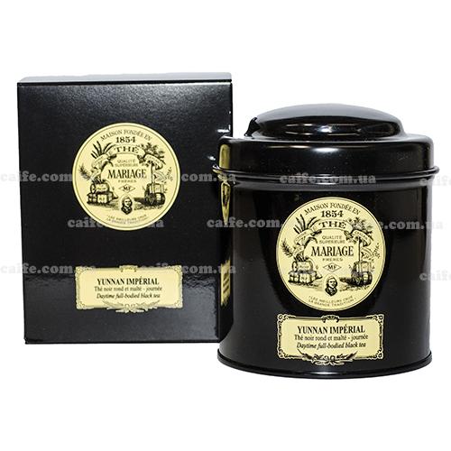 Черный чай Юннань Империал Mariage Freres металлическая банка 100 гр