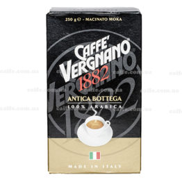 Молотый кофе Arabica Antica Bottega Vergnano 250 гр