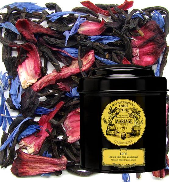Черный чай Эрос банка 100 грамм
