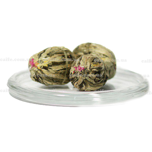 Цветок персика – вязаный чай
