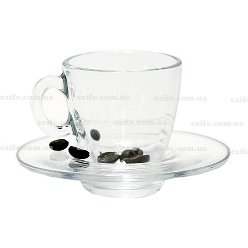 Чашка с блюдцем эспрессо 60 мл «Аква»