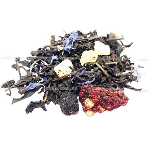 Черный чай с черникой