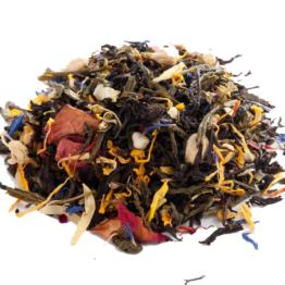 Черно-зеленый чай Будда