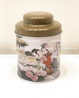 Банка для чая 50 грамм Пионы
